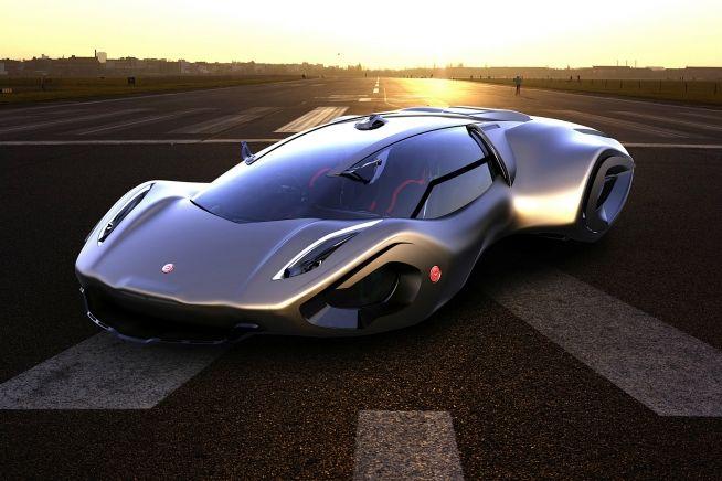 Bizzarrini Veleno Concept By Borys Dabrowski Cars Wheels And