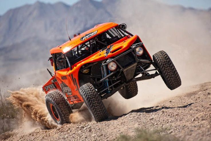 Robby Gordon-2012 Mint 400 Qualifying