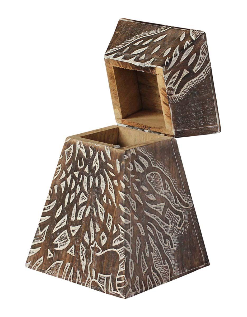 Bulk Wholesale Handmade Pyramid-Shaped Jewelry Box / Trinket Box ...