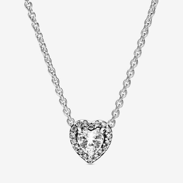 Collier Coeur élevé Pandora Necklace Pandora Jewelry Heart Necklace