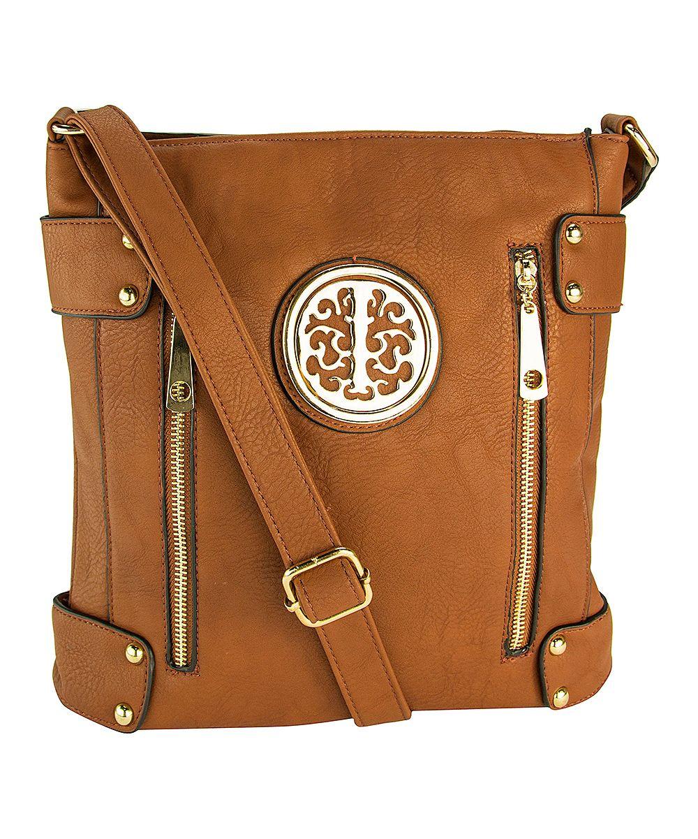 Cognac Brown Fanisa Crossbody Bag
