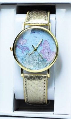 Womens casual gold colored analog watch with scalloped strap and clothes gumiabroncs Images