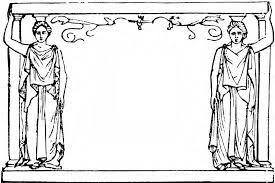 Caryatid Frame