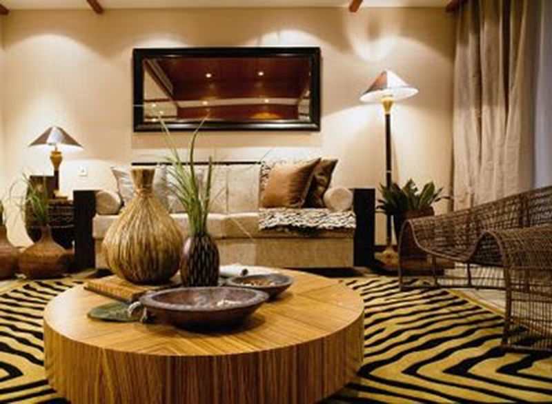 Attrayant African Style Living Room Decor Ideas