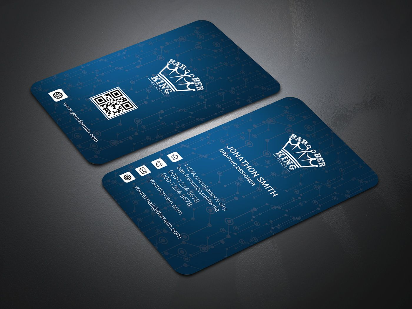 Creative Business Card Design With Free Mock Up On Behance