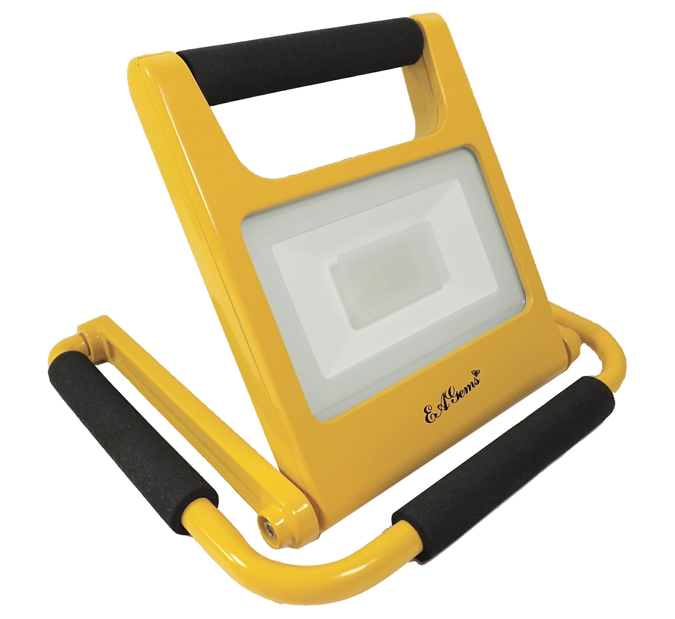 LED Light by EAGems - Rechargeable 20 Watt Work Lamp, Great for Home ...