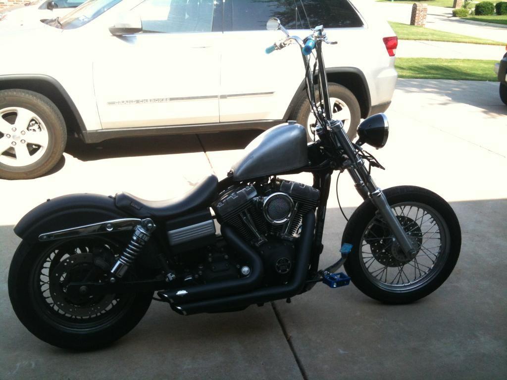 248190d1336058698 New Tank For My Street Bob Bikex001 Jpg 1024 768 Harley Dyna Harley Davidson Harley Davidson Dyna
