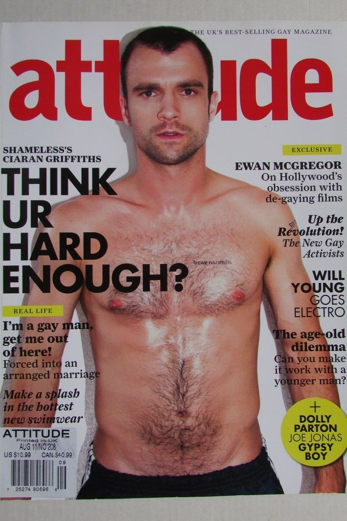 gay magazine called attitude