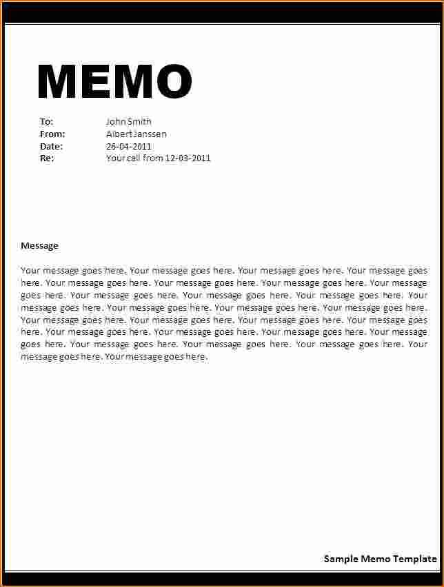 Letter Incident Report Template Memo Rejection Business Format