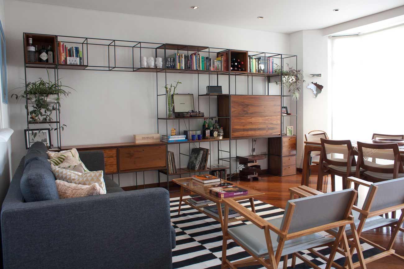 Trinca Para Apartamento Unindo Apoio Para Jantar Som E Mesa  -> Sala De Tv E Som