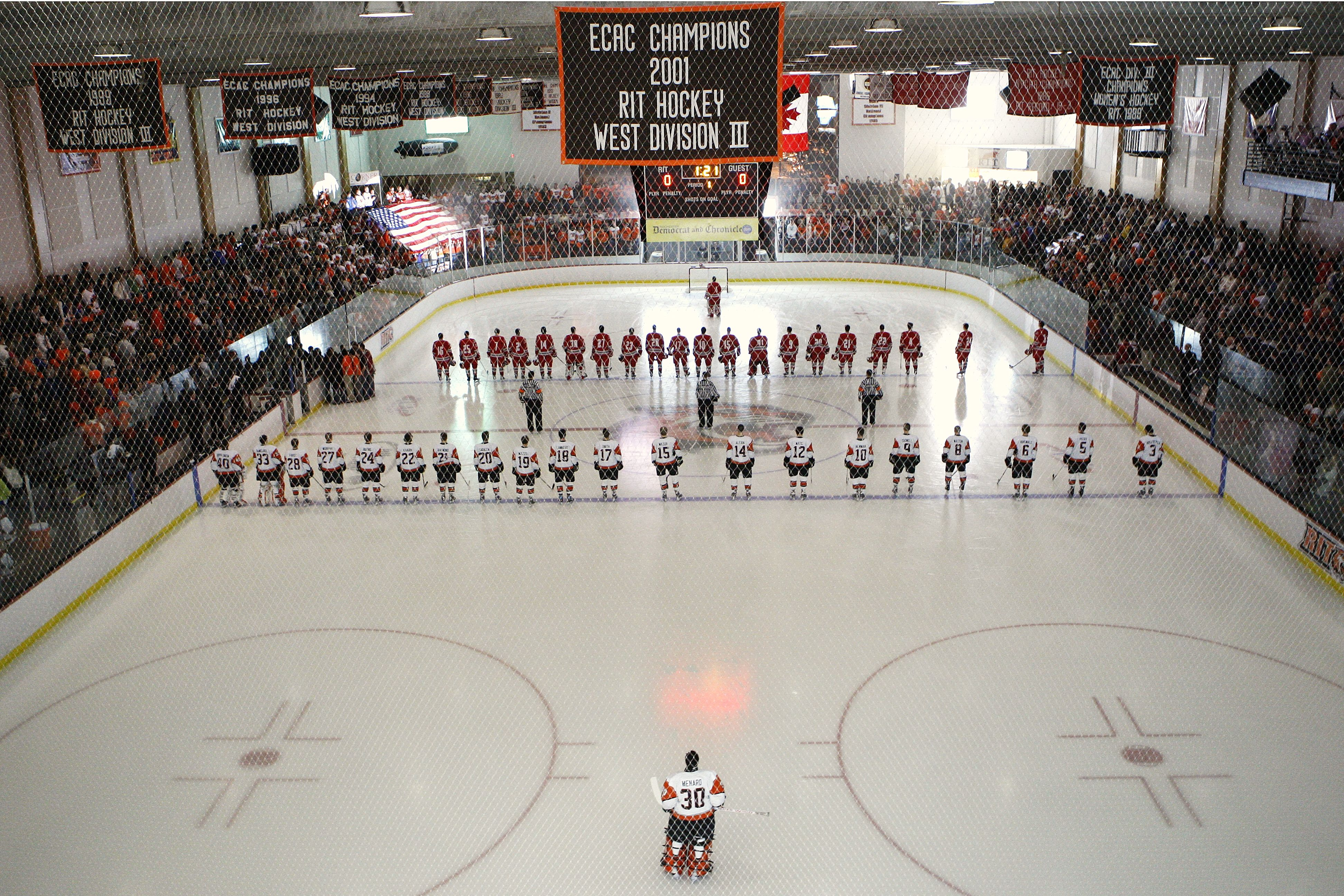 Rit Tigers Ritter Arena Rochester N Y College Hockey Hockey Arena Hockey