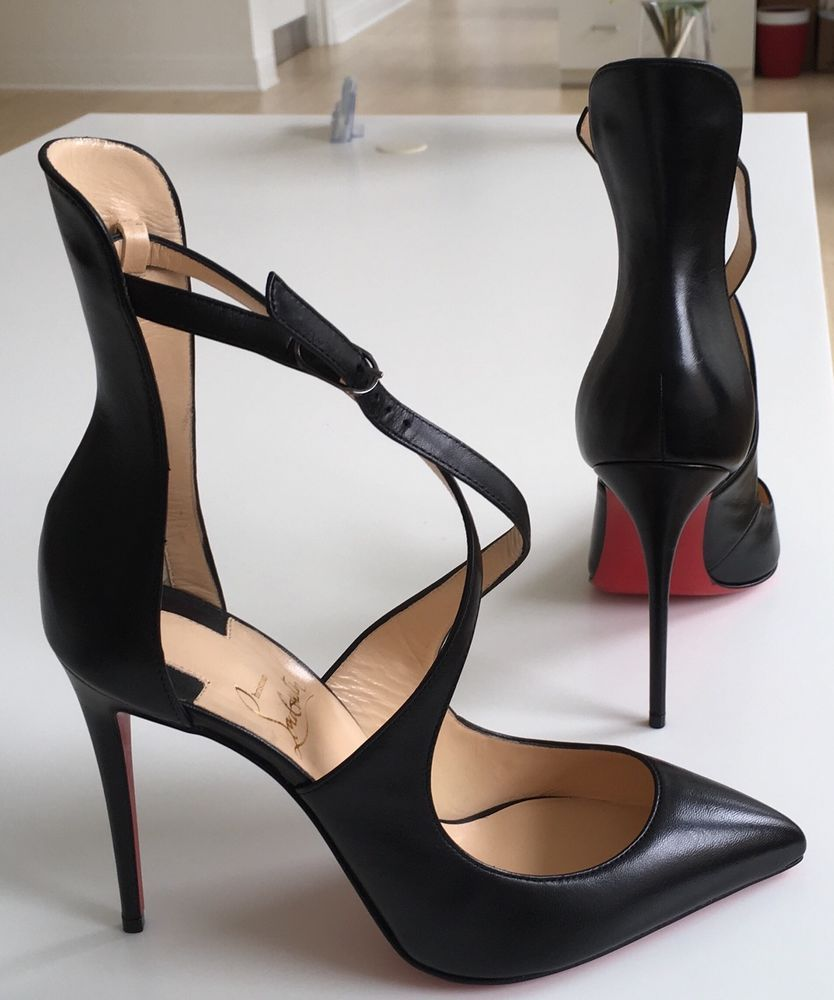 7929a337feaf New Christian Louboutin Marlenarock Black 100 Nappa Shiny Pumps Heels Shoes  38  ChristianLouboutin  PumpsClassics