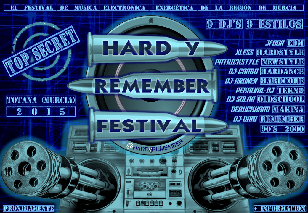 Hard y remember festival Totana (Murcia) 2015