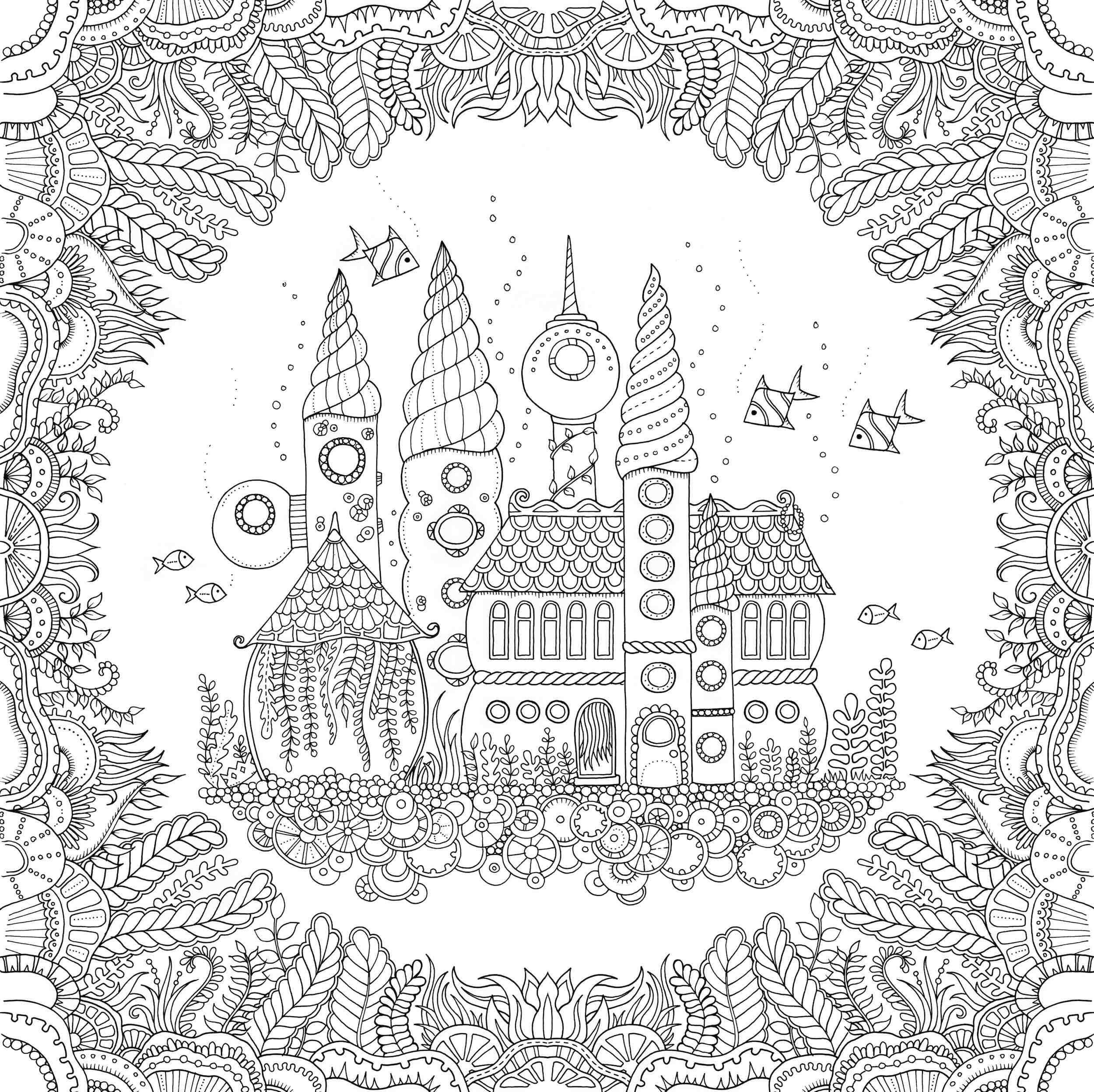 - Johanna Basford Coloring Pages - Do What You Love Interview