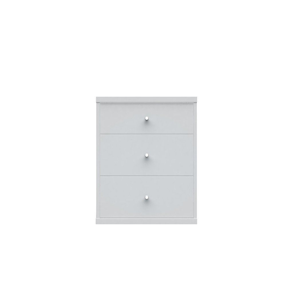 Manhattan Comfort Astor 2.0 Modern Night stand with 3- Drawers