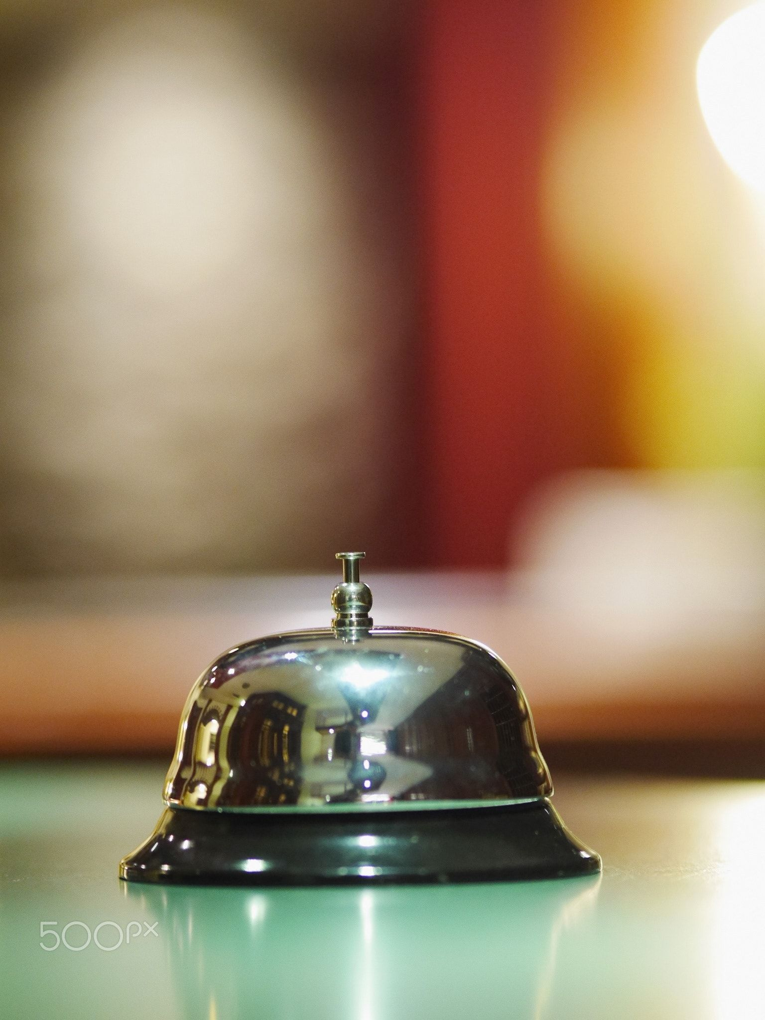 hotel service bell - A service bell in a hotel