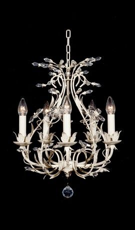 French provincial shabby chic cream and crystal chandelier 5 lights french provincial shabby chic cream and crystal chandelier 5 lights aloadofball Gallery