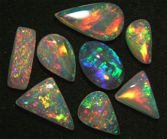 Brazilian Crystal Opal Parcel  PA37-3 by MrOpal, via Flickr #gemstones #opal #jewelry