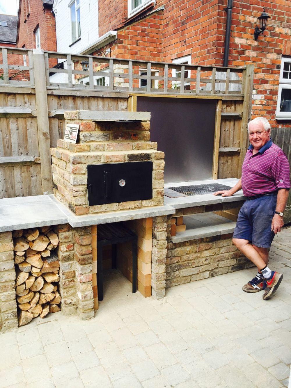 Backyard Brick Bbq Smoker Uk Style Backyard Grill Ideas Brick