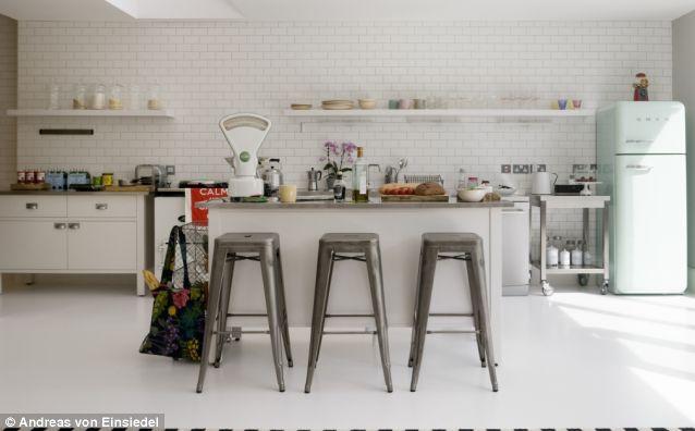 Modern Retro Kitchen Modern Retro Kitchen Kitchen