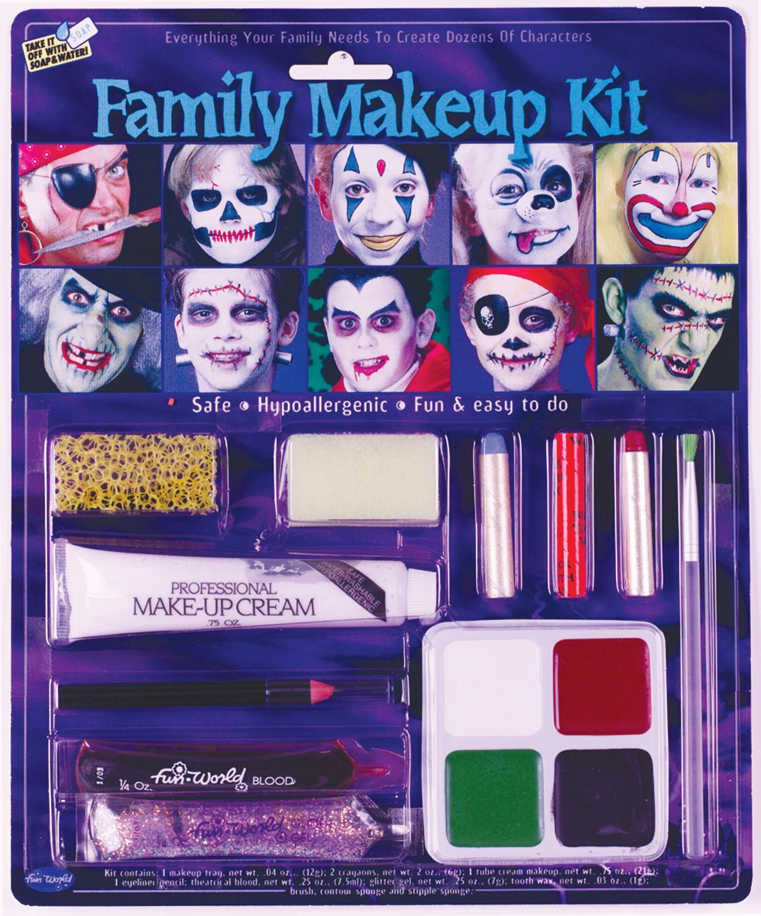 Family Makeup Kit Halloween makeup kits, Makeup kit, Makeup