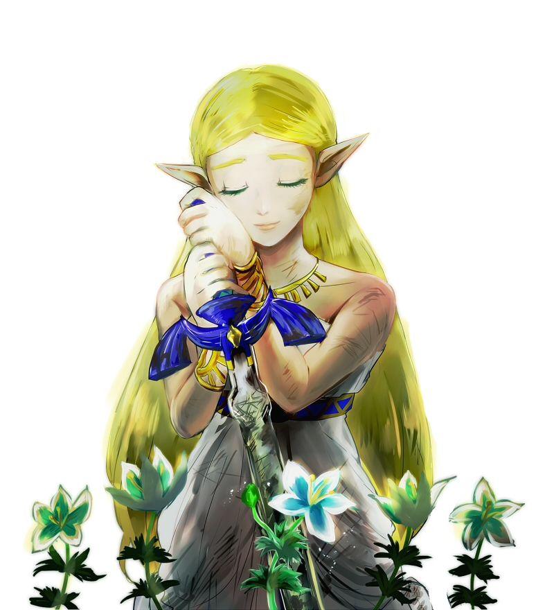 Zelda Und Prinzessinnen Enzian Breath Of The Wild