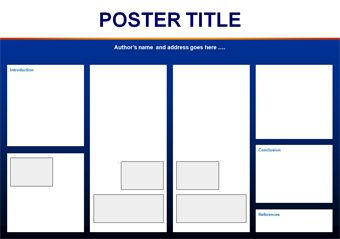 academic poster template - Google Search | Academic poster | Pinterest