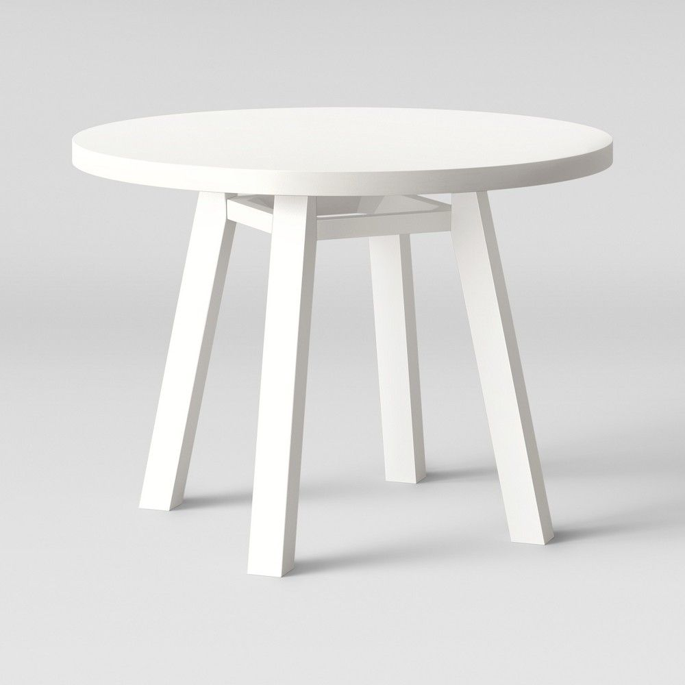 Ermine Round Dining Table White Opalhouse Target