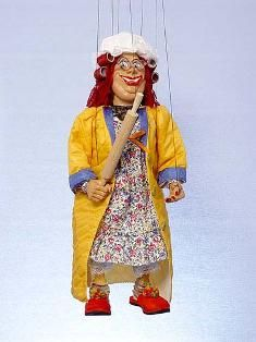 Mother in law , marionette