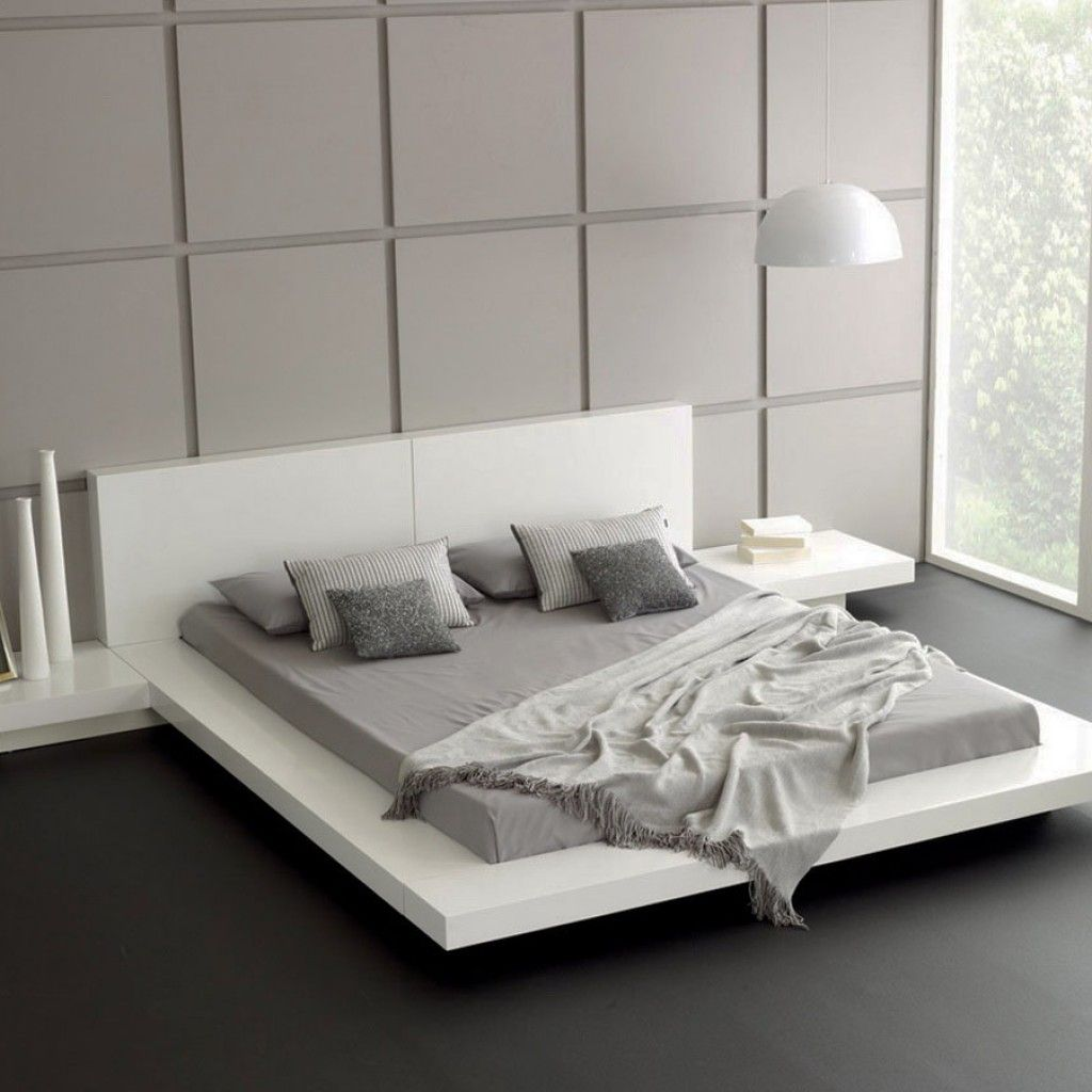Minimalist Home Design With Bedrooms In Effective Space And Design Modern Platform Bed Minimalist Bedroom Design Modern Bedroom Decor