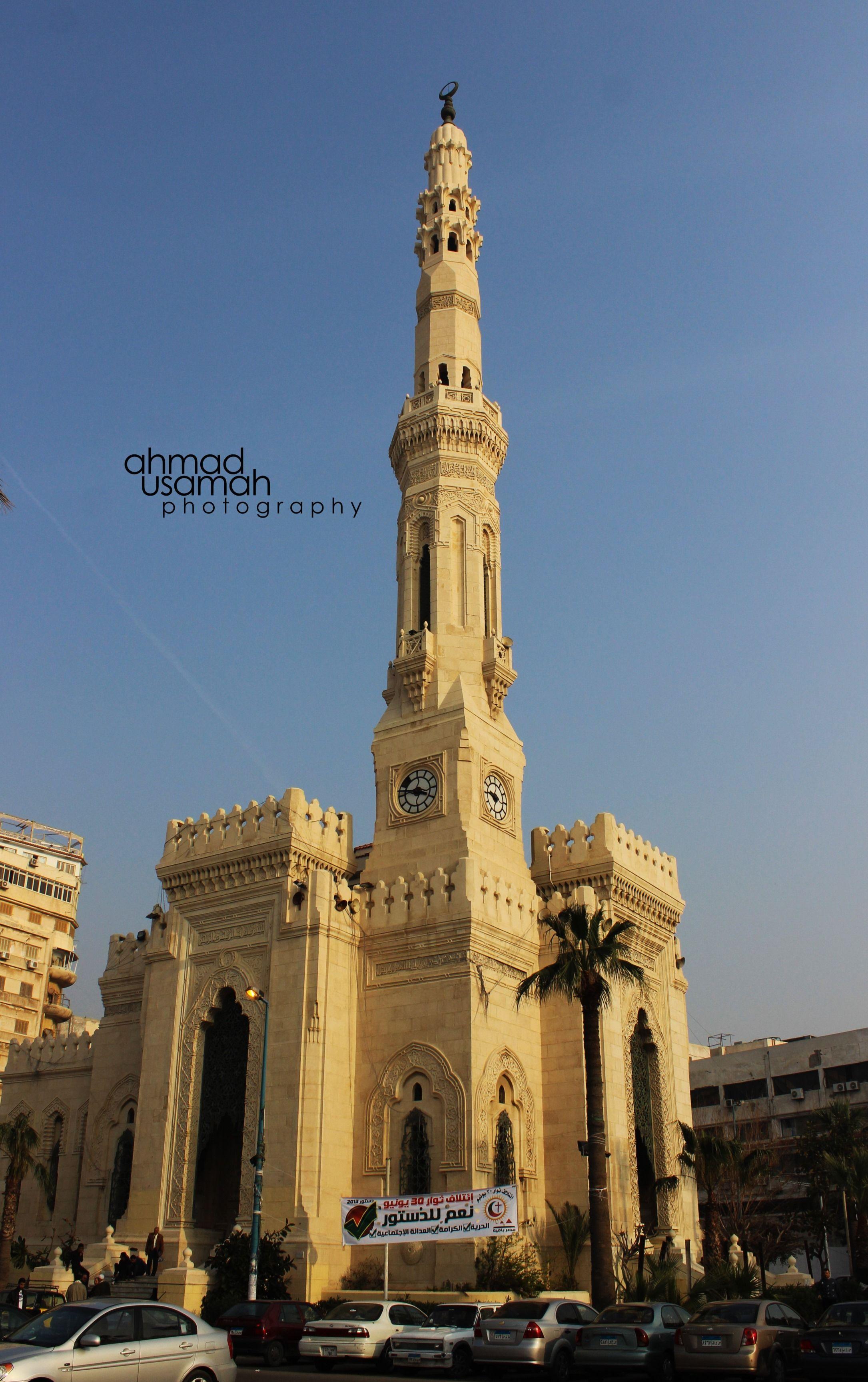 Al Qaed Ibrahim Mosque - #Alexandria #Egypt