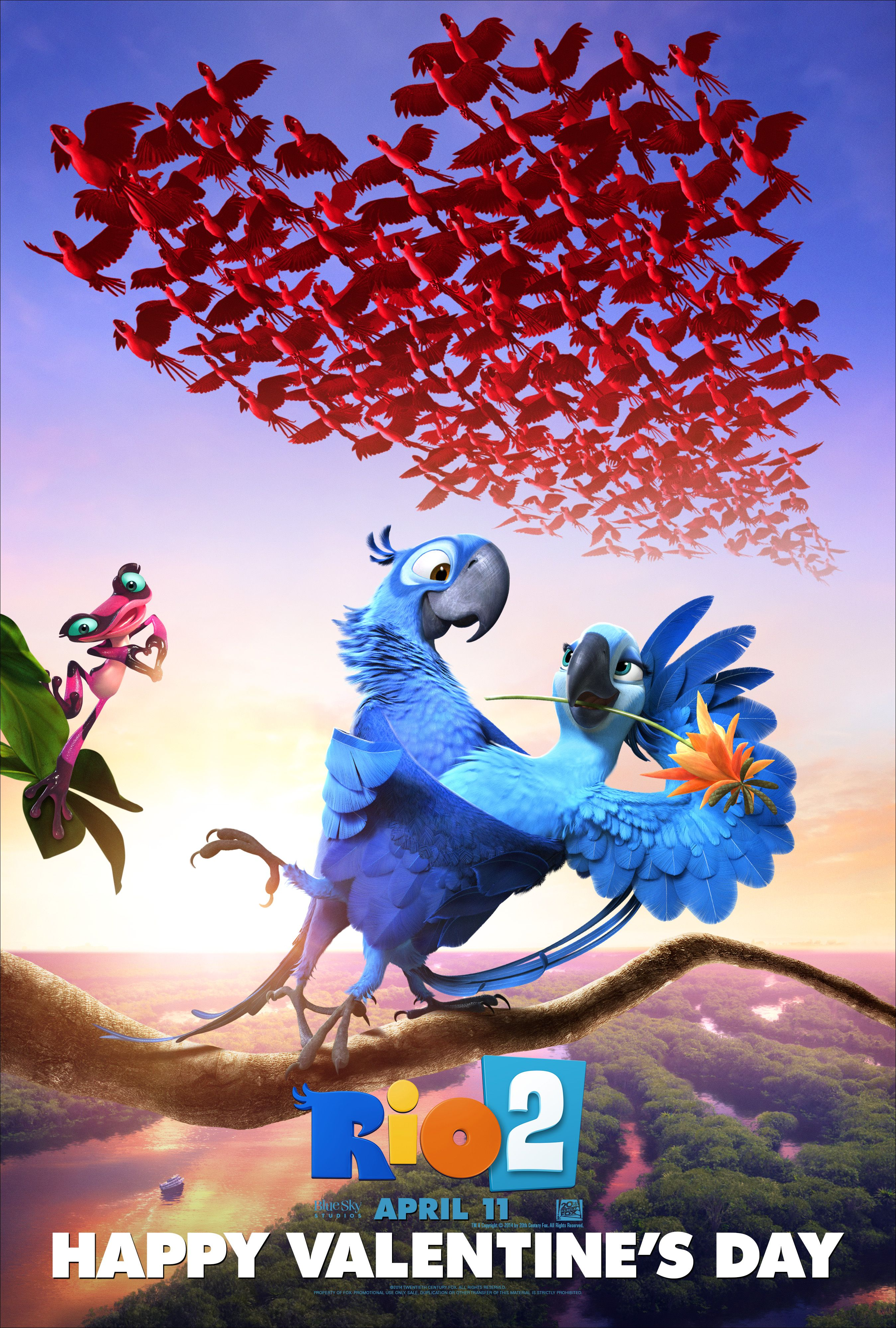 Roses Are Red Blu Isblue Happy Valentines Day From Rio 2