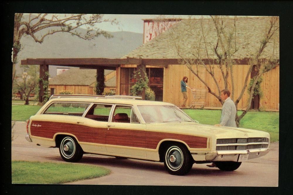 1970 Chrysler Wagon Auto Refrigerator Tool Box  Magnet