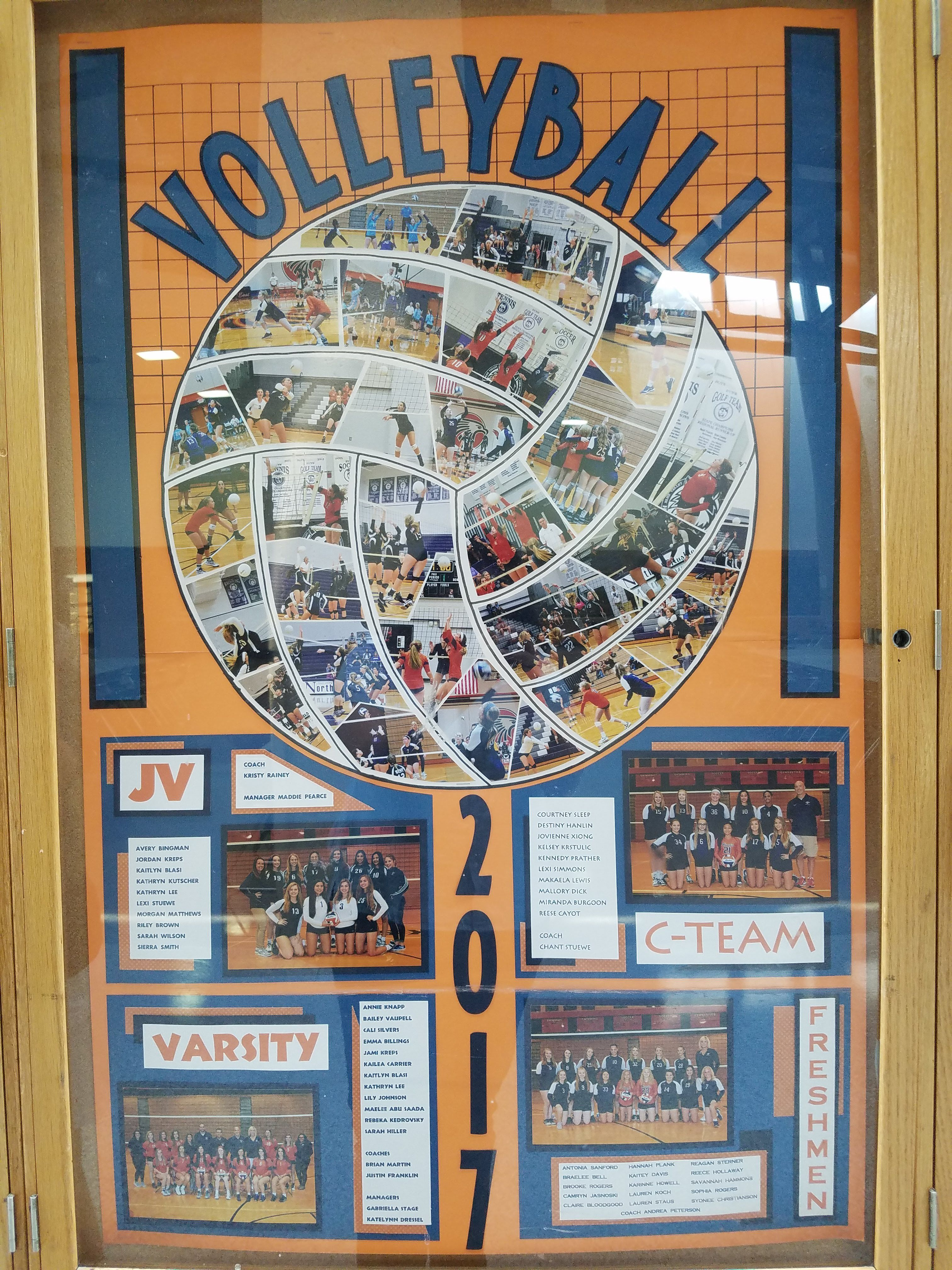 High School Volleyball Teams Bulletin Board C Team Jv Varsity Volleyball Senior Night Volleyball Locker Volleyball Locker Decorations