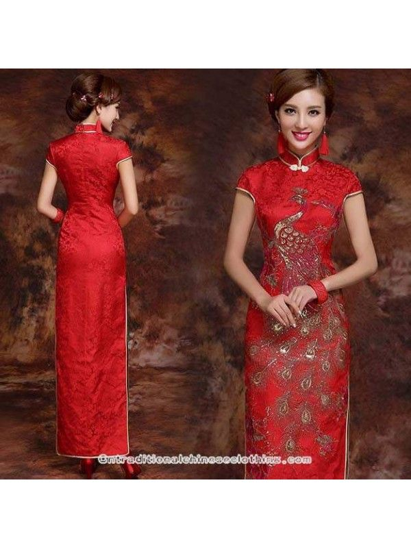 2015 traditional chinese wedding dress online at ...