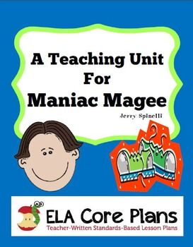 maniac magee maniac magee summary create a colorful storyboard  maniac magee novel unit activities handouts tests