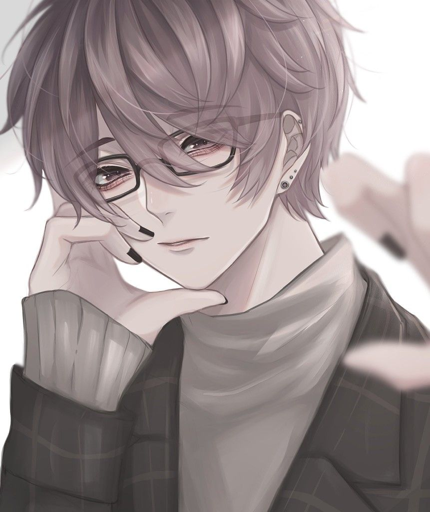 Anime Boys おしゃれまとめの人気アイデア Pinterest Kuroshe 眼鏡 男子 イラスト イラスト 男の子 イラスト