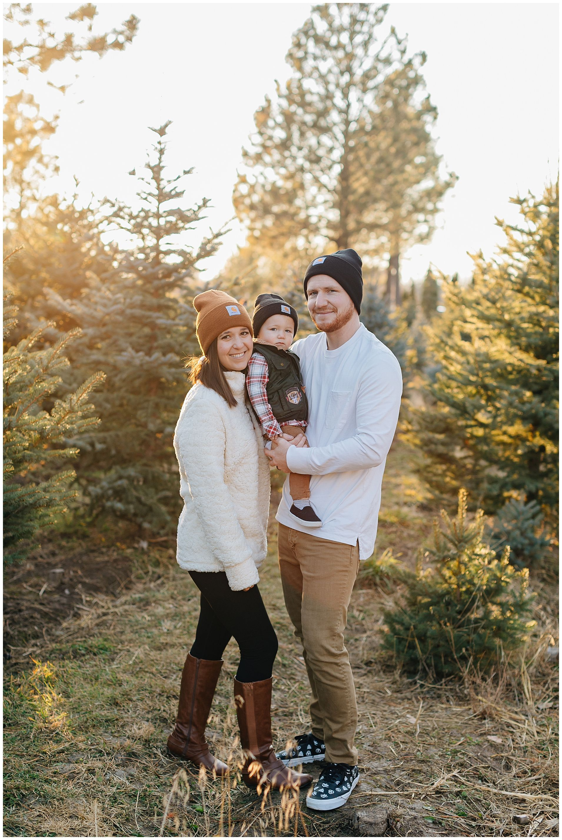 Gerrard Carhartt Beanie Family Pictures Truly Photography Winter Family Pictures Farm Family Pictures Cute Family Pictures