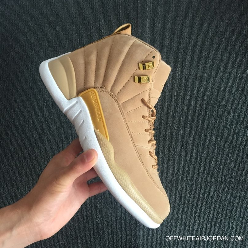 4fdaf8bf38b 2018 New Jumpman Men Basketball Shoes Cheap Wheat Yellow Suede 12 XII Man  Sneakers Mens 12s Basket Ball Athletics Sports Shoes Size 41 47 Basketball  Shoes ...