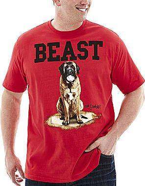 65b2aacfd Novelty T-Shirts Sandlot Beast Graphic Tee-Big & Tall | Tees'n Me ...