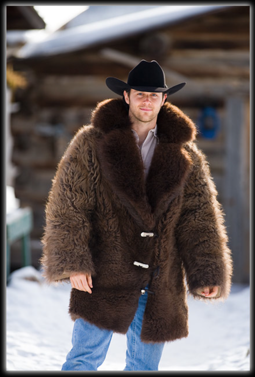 Buffalo Jacket Mens Fur Coat Fur Clothing Fur Jacket