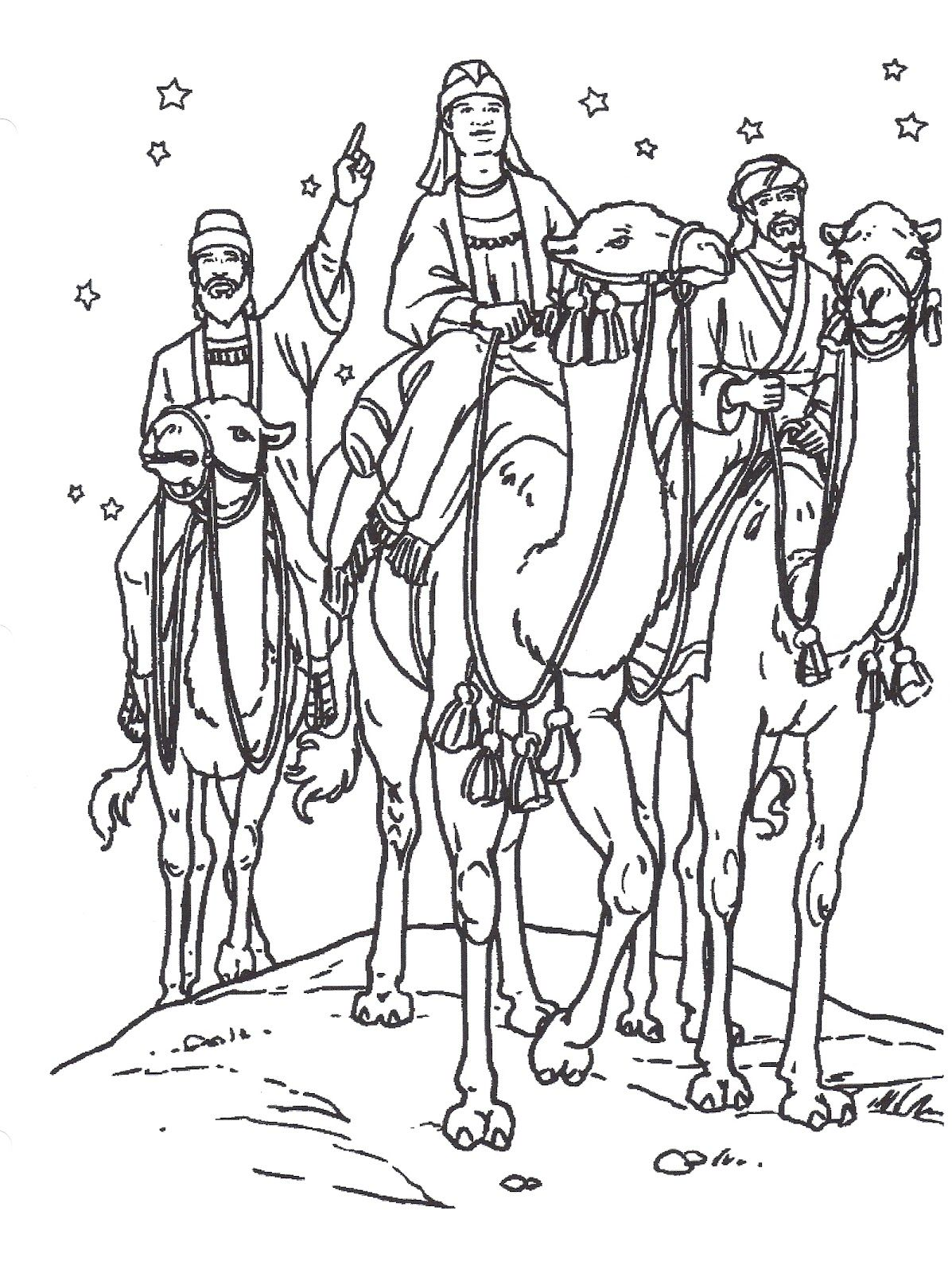 Primary 2 Lesson 46 Christmas Christmas Coloring Pages Coloring