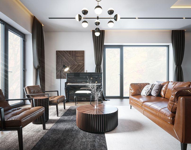 Beauty Salon Vinci Cgi On Behance Interior Projects Interior Green Rooms