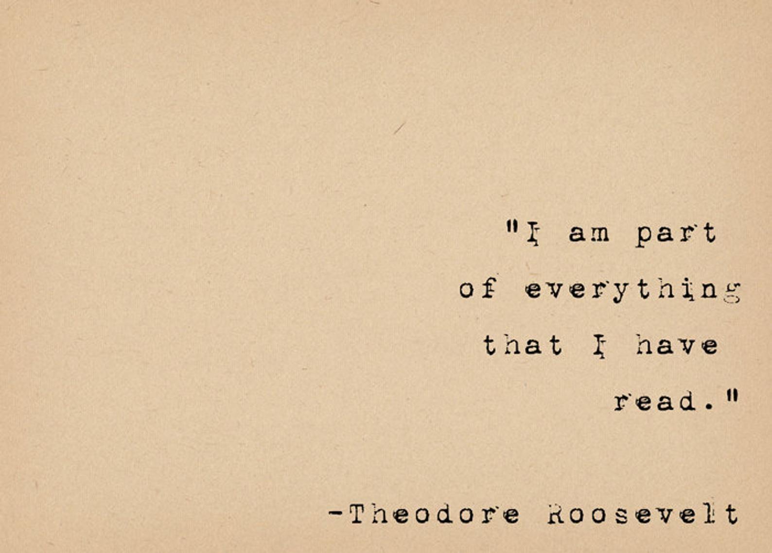Literary Art Quote Print Bibliophile Art Typewriter Quote   Etsy