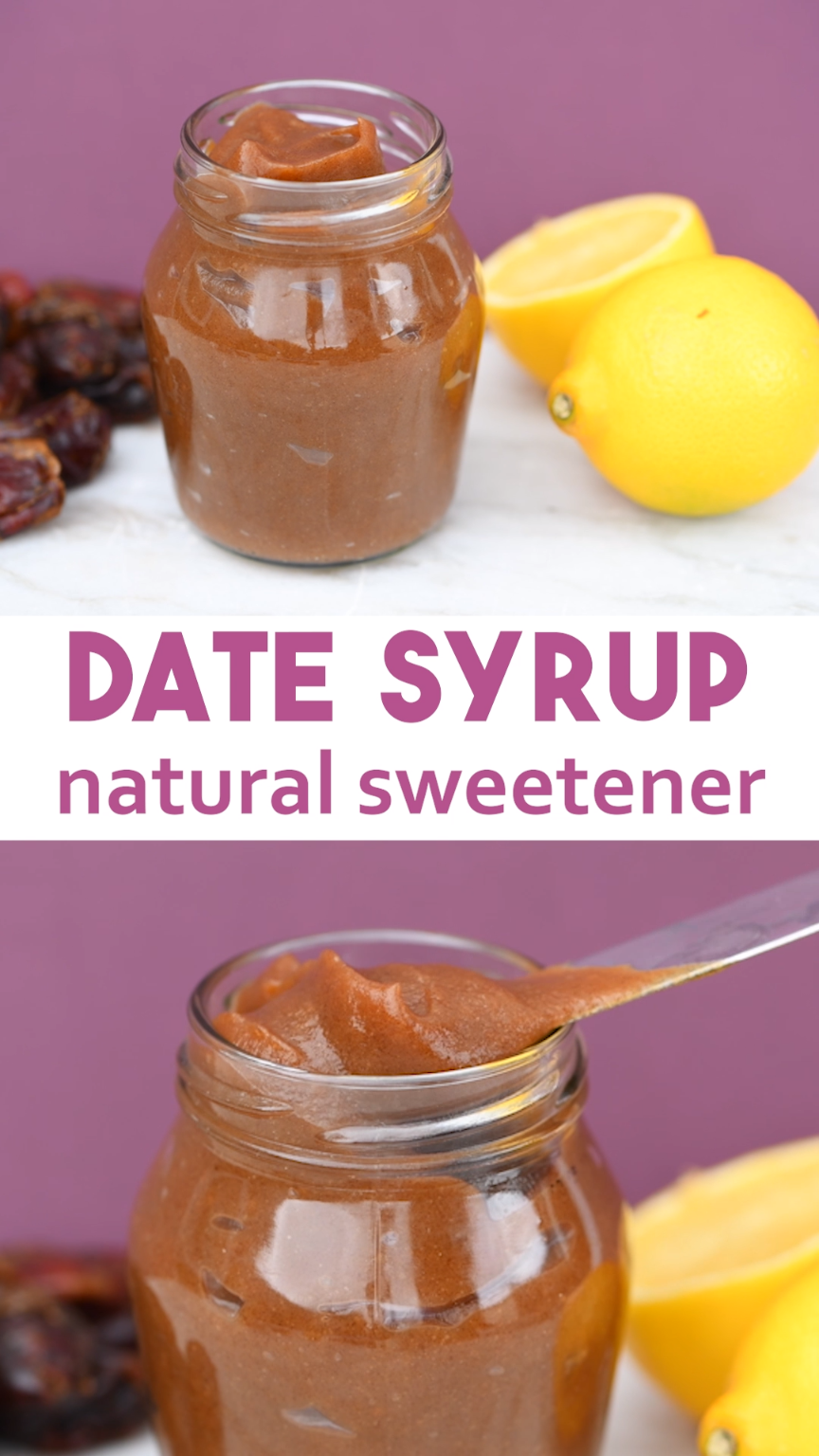Natural Sweetener Recipe - Date Syrup Date Syrup N