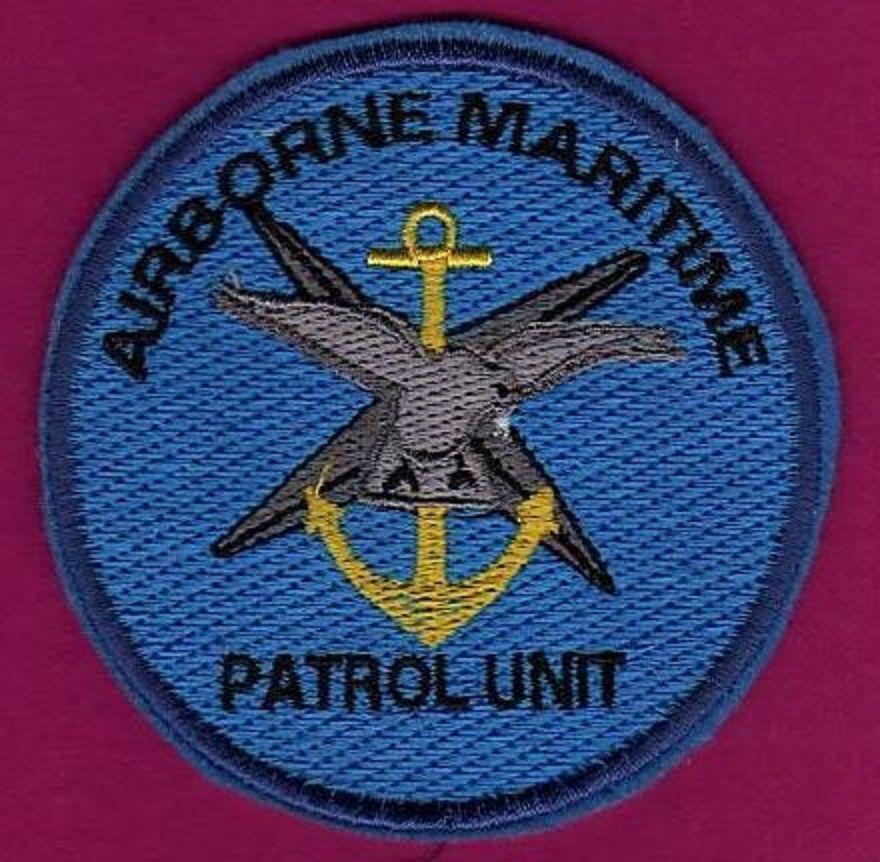 SRAEL IDF AIR FORCE AIRBORNE MARITIME PATROL PATCH