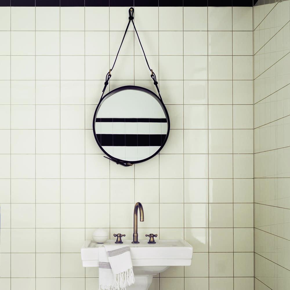Adnet Mirror | Jacques Adnet | Gubi | SUITENY | Bathroom ...