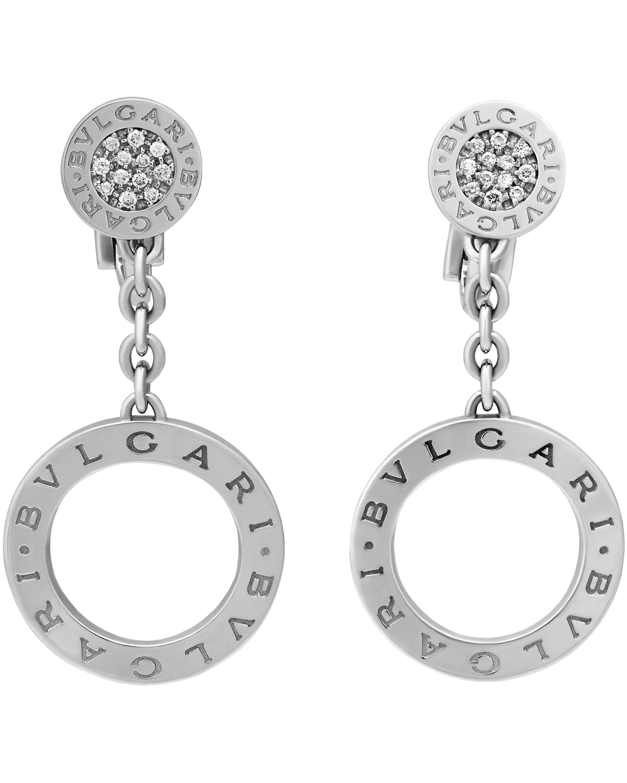d39ba92f6 ShopWorn™ Bvlgari Earrings Bvlgari Bvlgari Revamping 18k White Gold, Brill  OR854641 343401