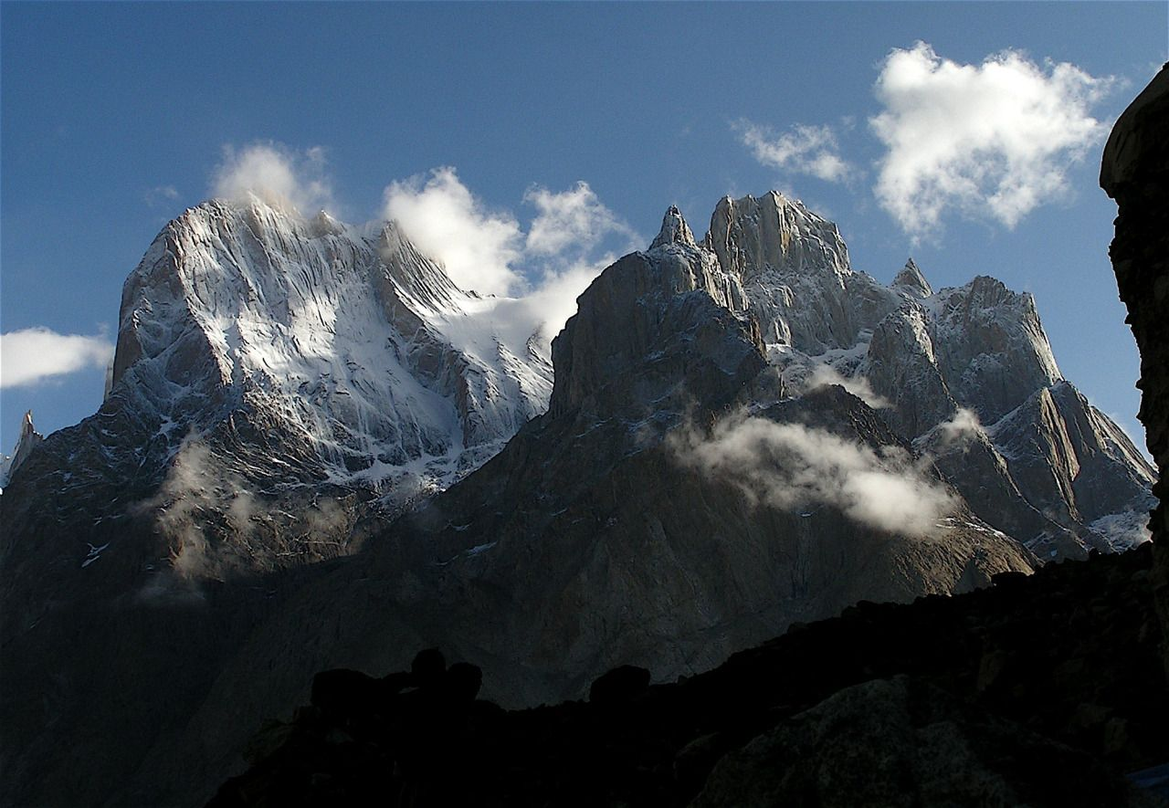Great Trango and Biale.