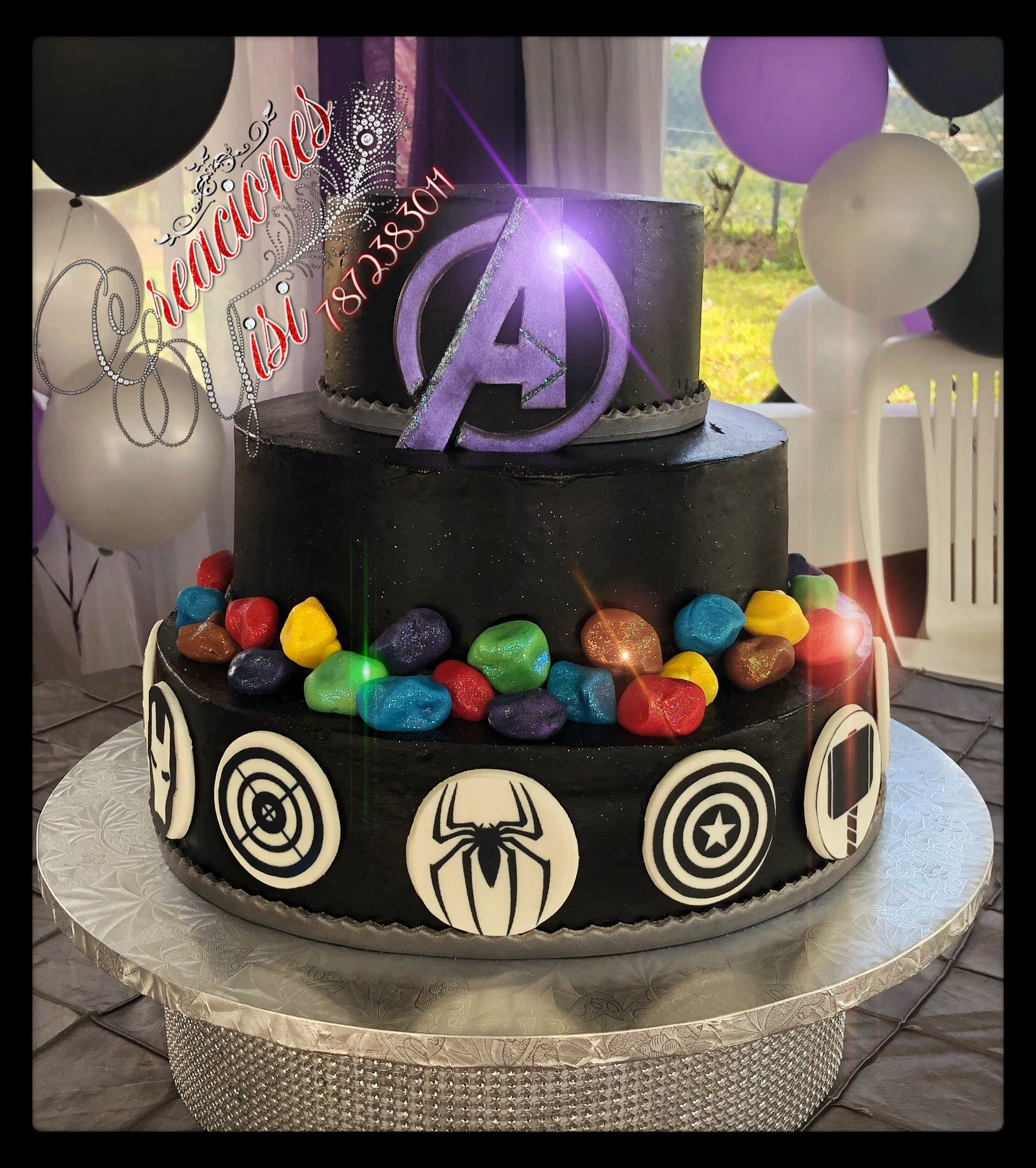 Avengers Infinity War Cakes Will S Birthday In 2019 Avengers